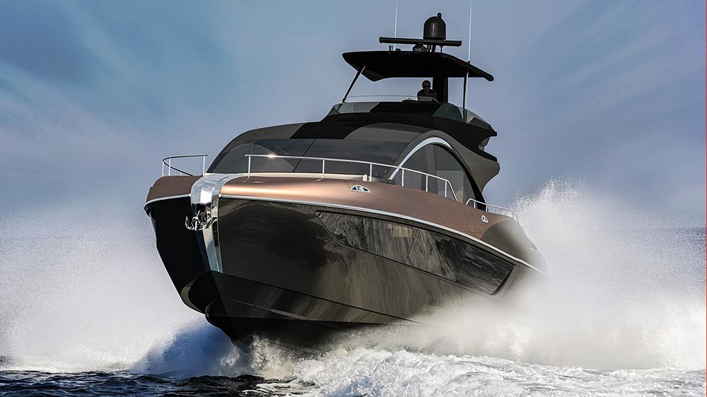 Lexus LY 650 sport yacht car yacht collaboration