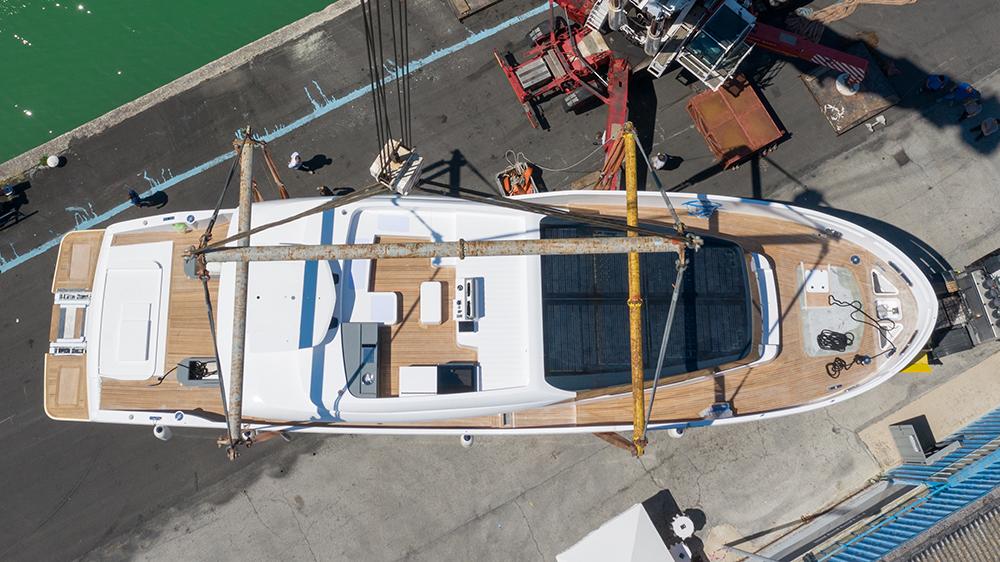Extra 86 Fast Palumbo Superyacht Ancona Italy