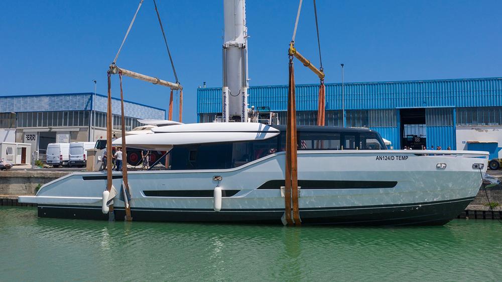 Extra 86 Fast launch Palumbo Shipyards ancona, italy