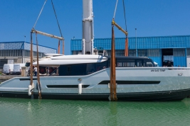 Extra 86 Fast launch Palumbo Shipyards ancona, italy