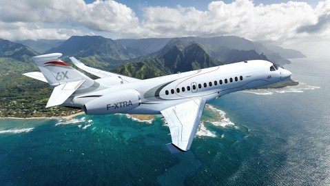 Dassault's New Falcon 6X Business Jet