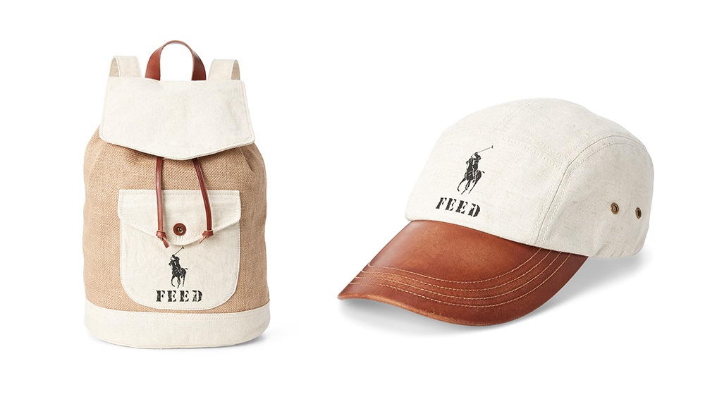 Feed's collaboration with Polo Ralph Lauren