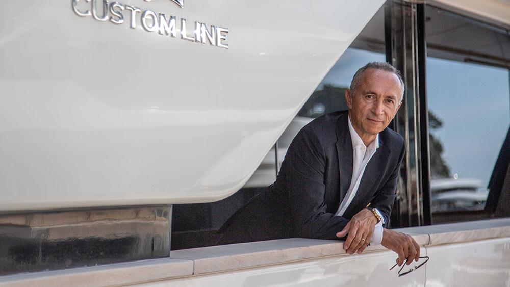 Ferretti Group CEO Alberto Galassi