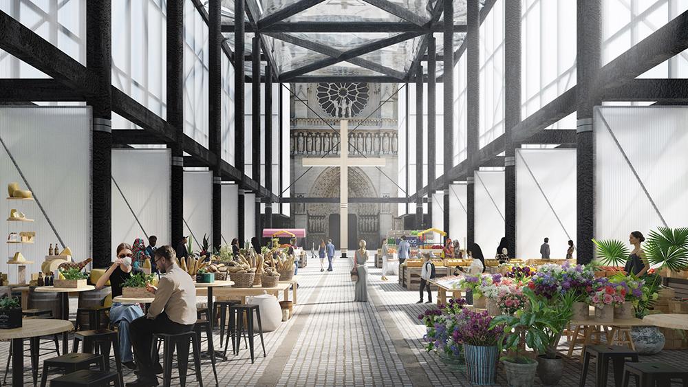 Gensler's Pavillon Notre Dame