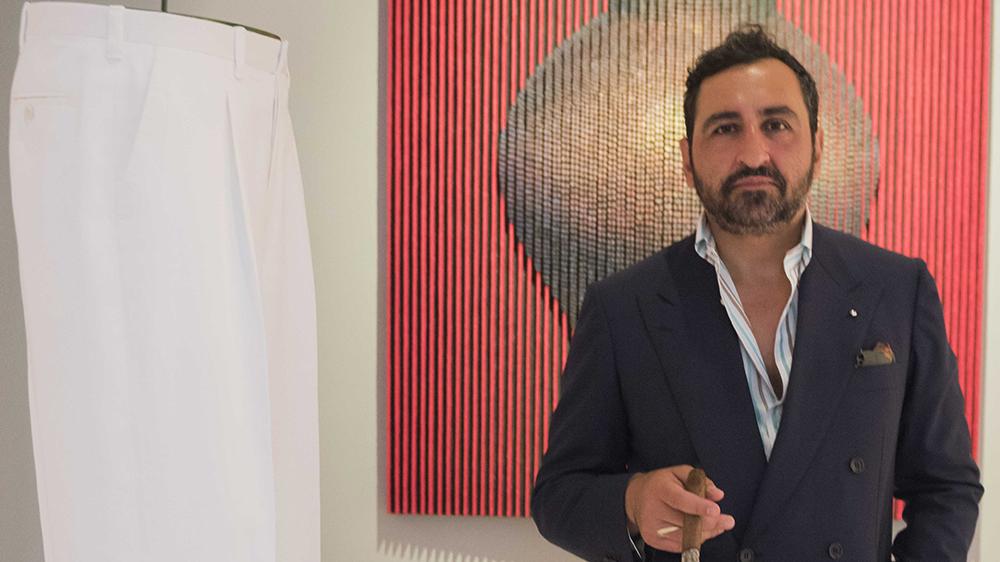 Cofounder of Pommella Napoli Gianluca Migliarotti
