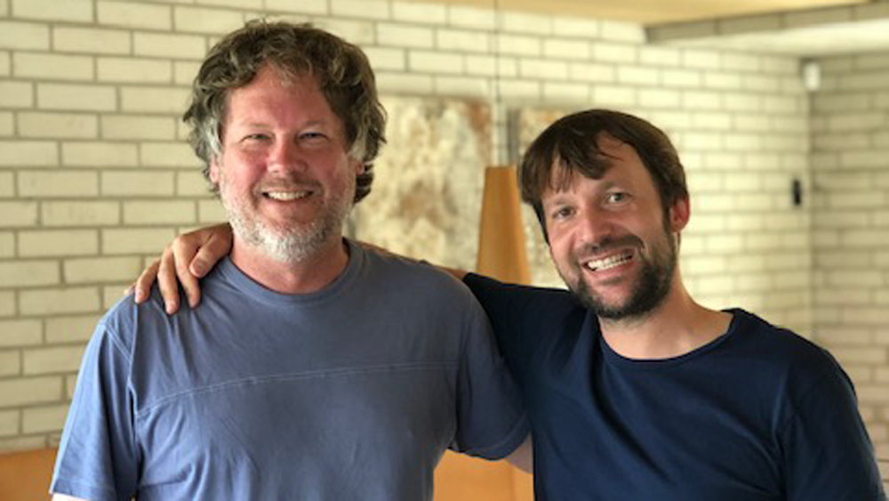 Jeff Gordinier and René Redzepi