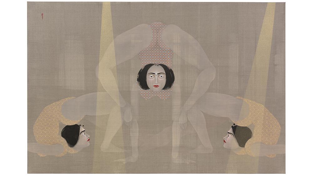 Hayv Kahraman's artwork Not Quite Human 1