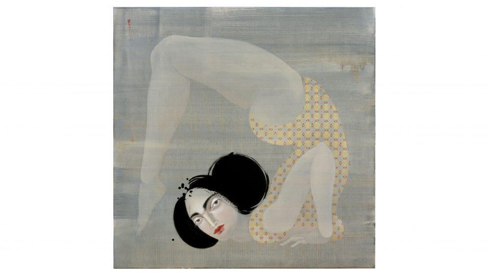 Hayv Kahraman's artwork The Contortionist 1
