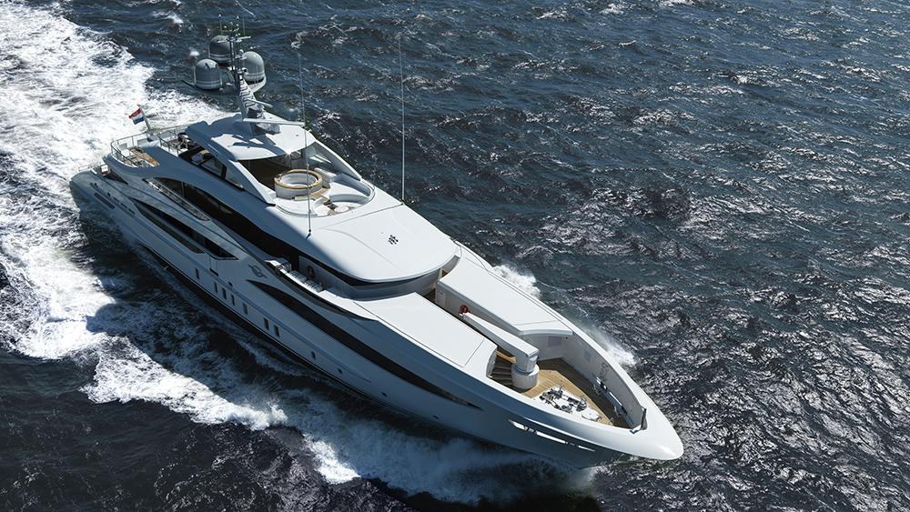 Dutch shipyard Heesen Galvas FDHF superyacht