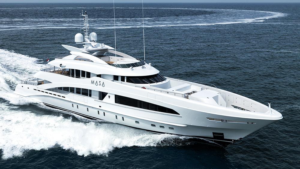 Heesen Yachts Masa 50m aluminum superyacht Omega Architects