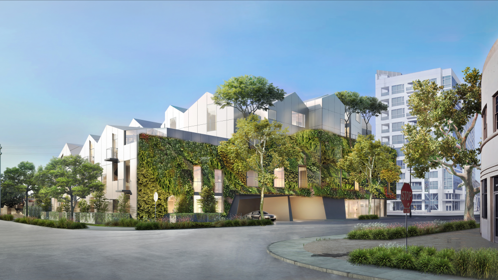 Beverly Hills' new Gardenhouse development.