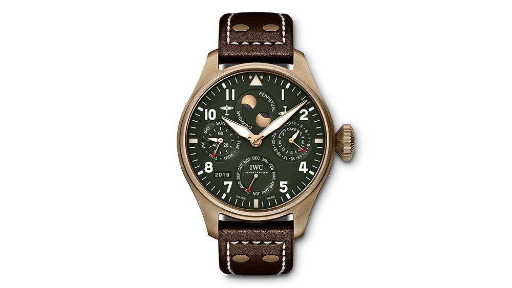 IWC Big Pilots Watch Perpetual Calendar Spitfire