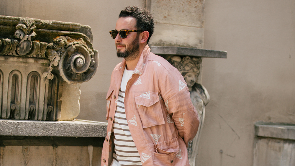 Men's fashion director of Moda Operandi and owner of Magasin Josh Peskowitz