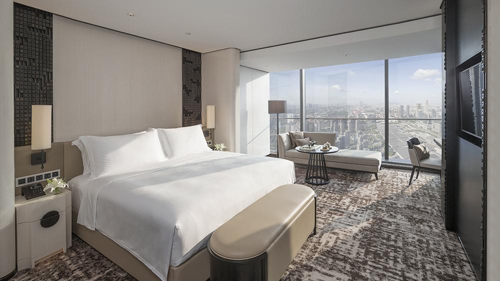 Room 4503 at Jumeirah Nanjing in China
