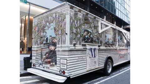 The Lady M Cake Boutique and Baccarat Cake Truck