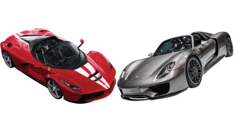 Ferrari LaFerrari vs Porsche 918 Spyder