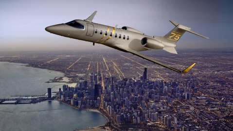 Learjet 75 Liberty light jet $9.9 million