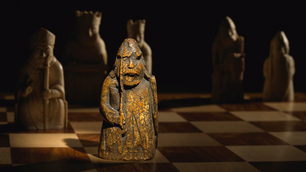 The Lewis chessman.