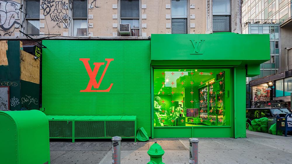 Louis Vuitton and Virgil Abloh Set Up