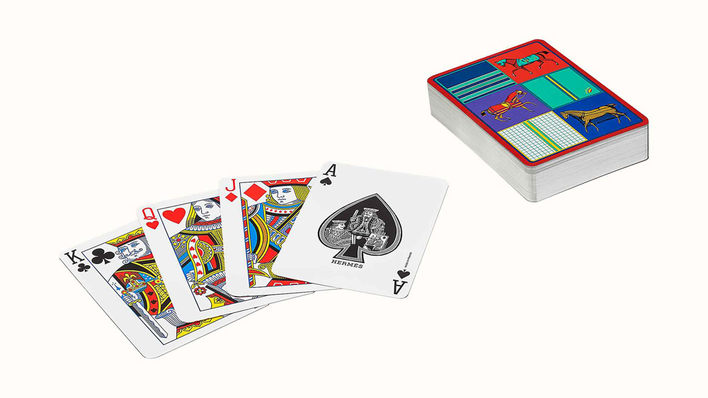 Hermes Couvertures Nouvelles Poker Playing Cards