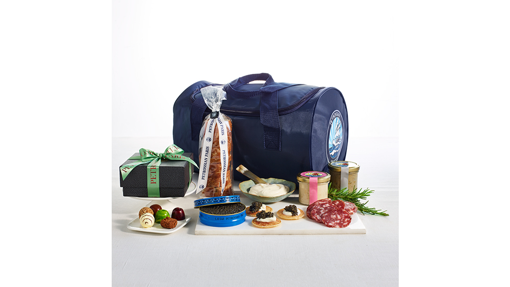 Petrossian Picnic in the Park Basket