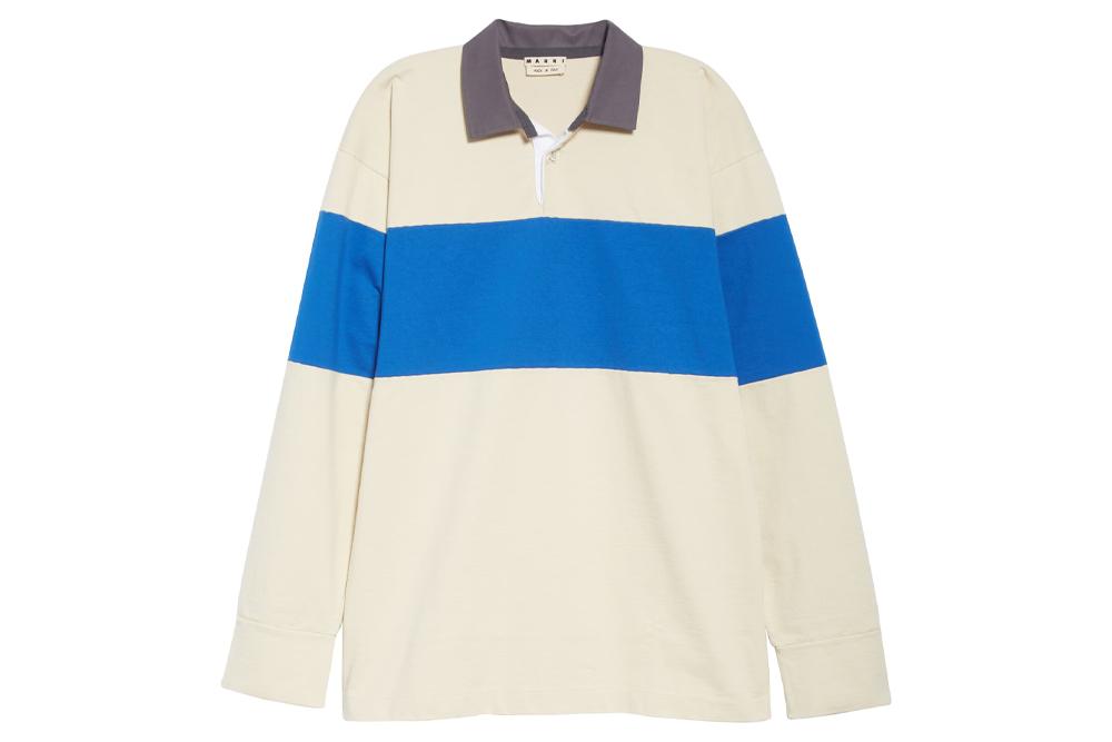 Marni Long Sleeve Rugby Shirt