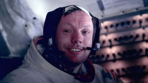 Photograph of Astronaut Neil Armstrong during the Apollo 11 space mission. Dated 1969.VARIOUS