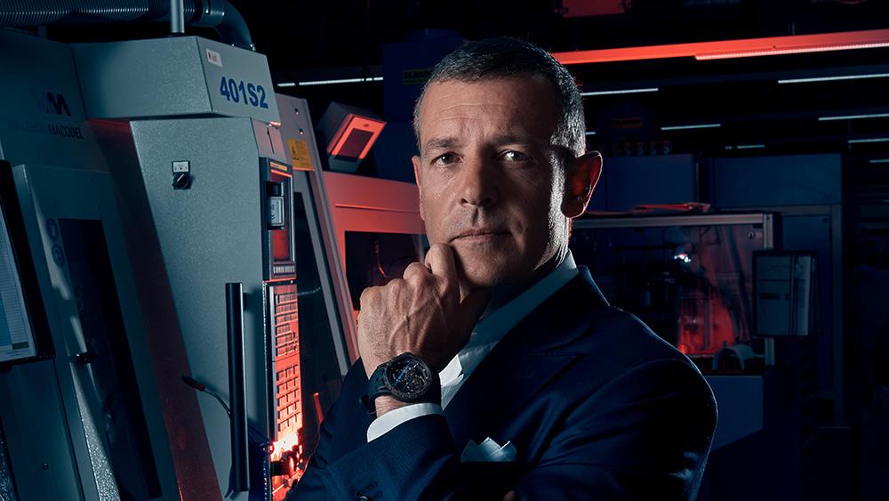 Roger Dubuis's CEO Nicola Andreatta