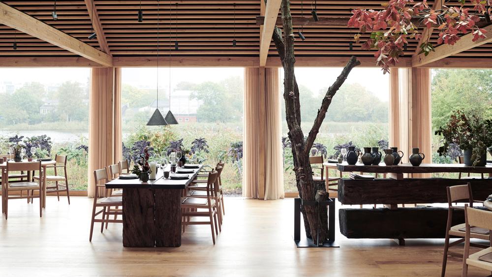 Noma Copenhagen dining room