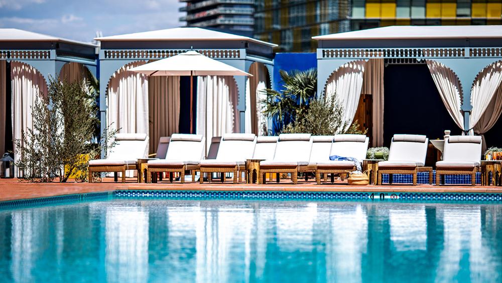 The pool at Nomad Las Vegas