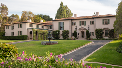 The Owlwood Estate in Holmby Hills