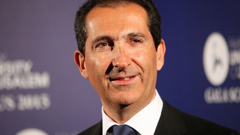 Altice group's Chairman Patrick Drahi poses for photographers at the Scopus Awards of the French Friends of the Hebrew University, in ParisFrance Scopus Award, Paris, France
