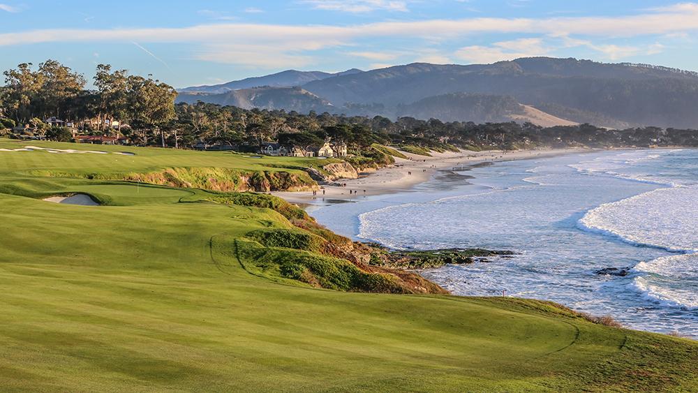 Pebble Beach Golf Course Hole 9