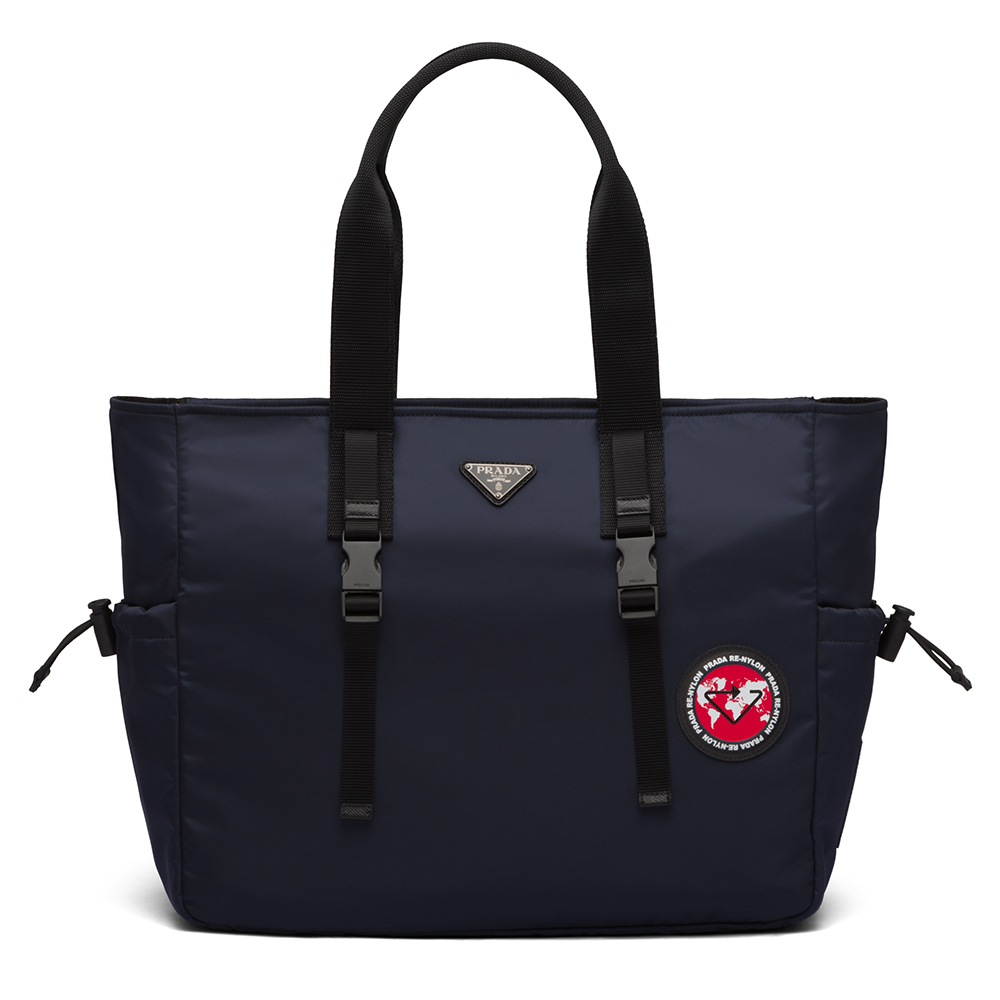 Prices for Prada's Re-Nylon bags range from $1,550 for a tote bag like this to $1,790 for the duffle above.