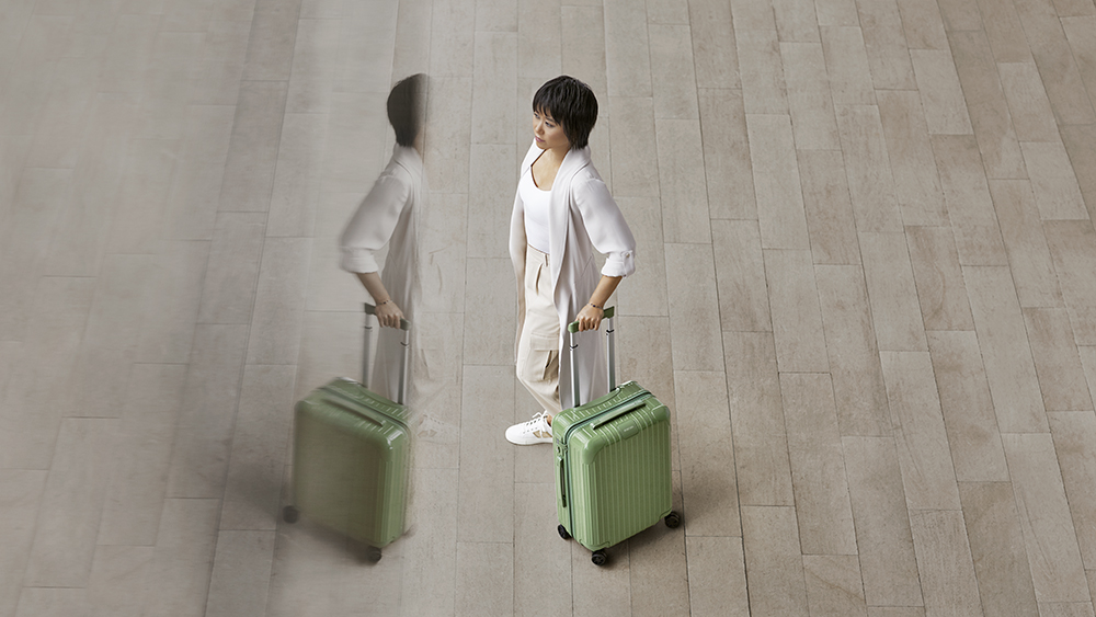 Yuja Wang in the new Rimowa campaign