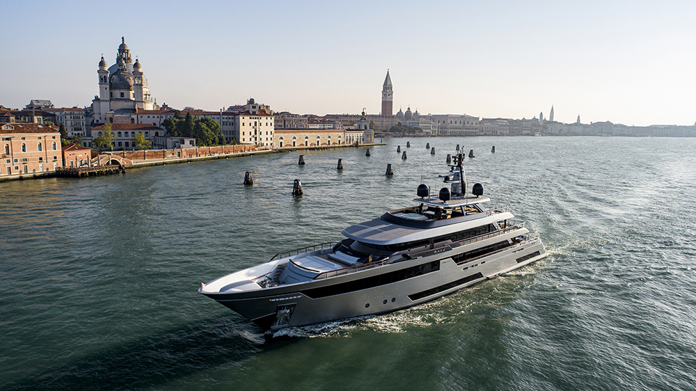 Riva's new 164-foot superyacht Race