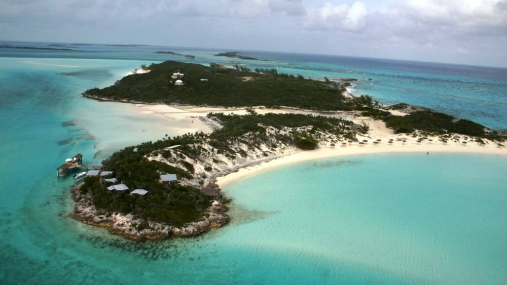 Saddleback Cay in the Bahamas