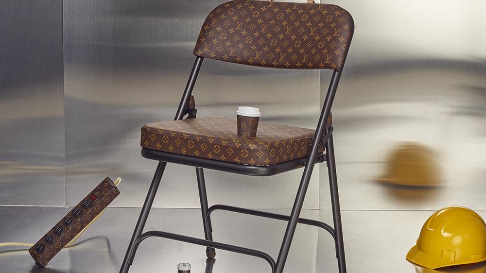 Sarah Coleman's Louis Vuitton Folding Chair
