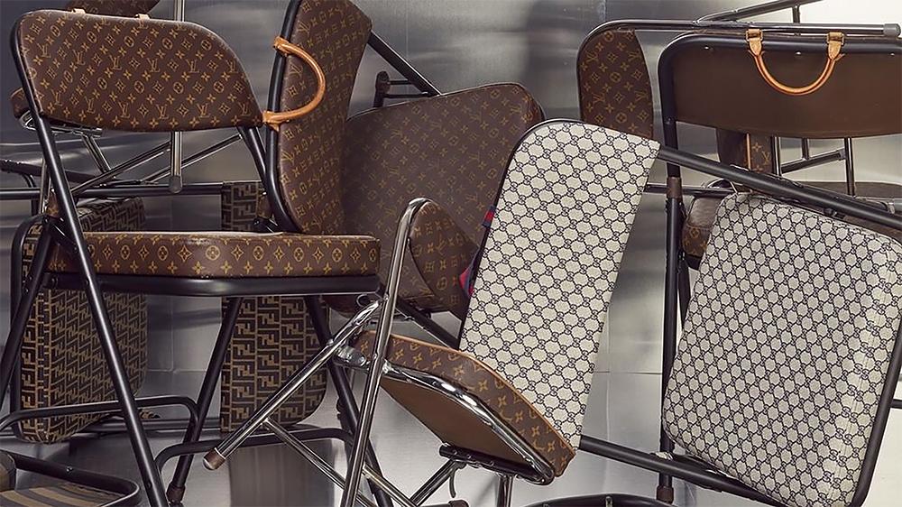 Sarah Coleman's Louis Vuitton Chairs