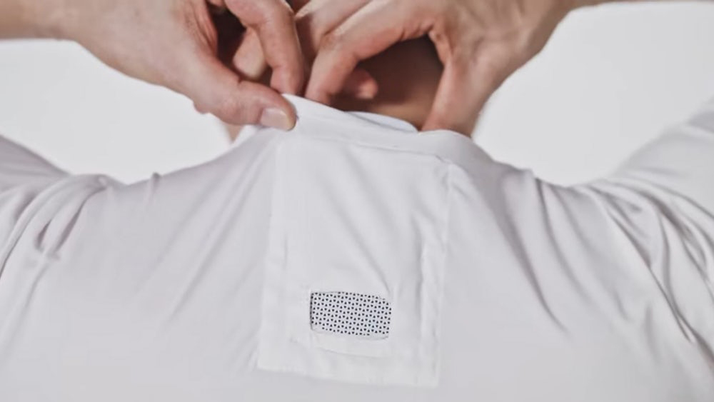 Sony's new wearable air conditioner the Reon Pocket