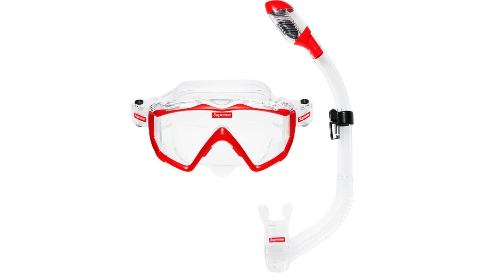 Supreme x Cressi snorkel set