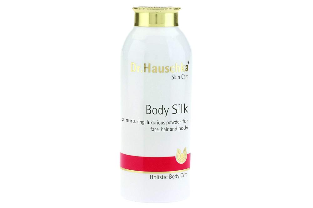 Eliminate sweat with Dr. Hauschka's Body Silk Powder
