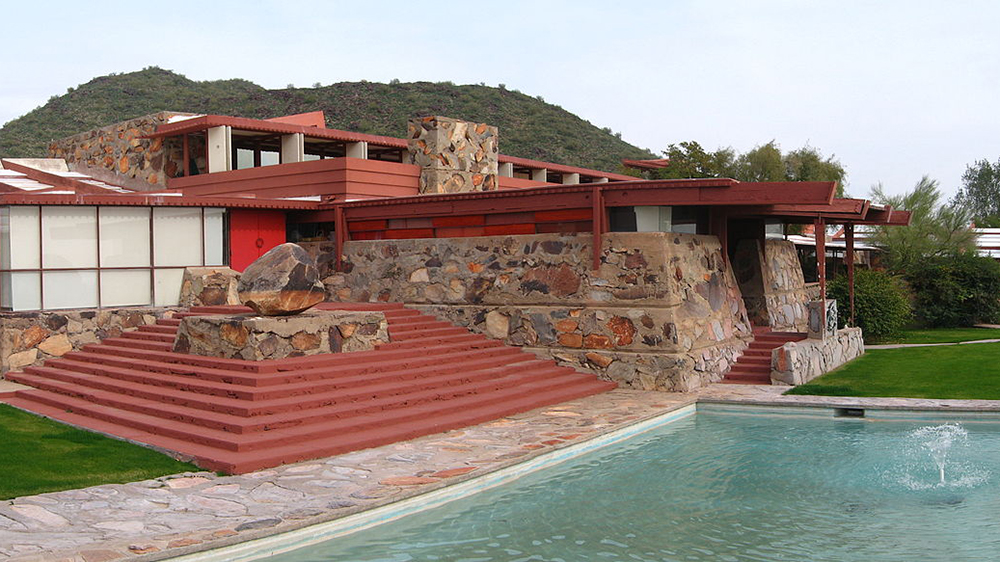 Frank Lloyd Wright's Taliesin in Arizona