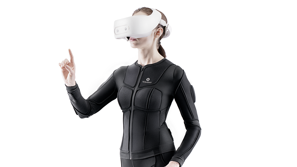 Teslasuit full-body haptic gear