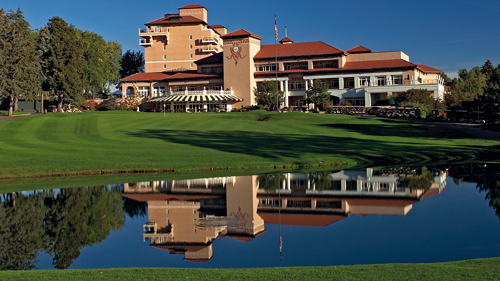 Broadmoor East #18 and Clubhouse