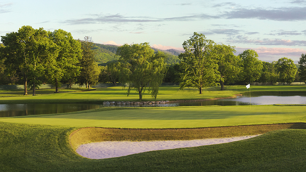 The Greenbrier The Meadows Hole