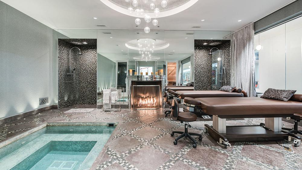 The spa at The Sandcastle in Bridgehampton