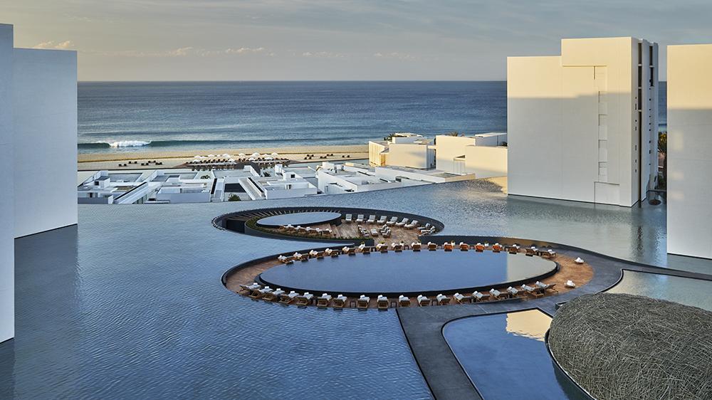 The pool at Viceroy Los Cabos
