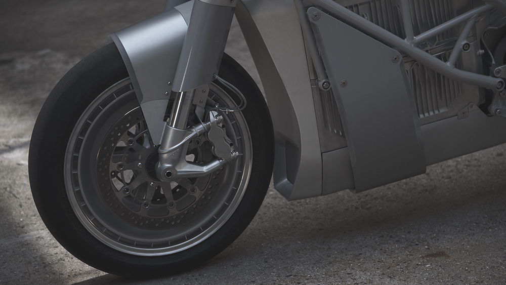 Untitled Motorcycles' Zero XP electric motorcycle