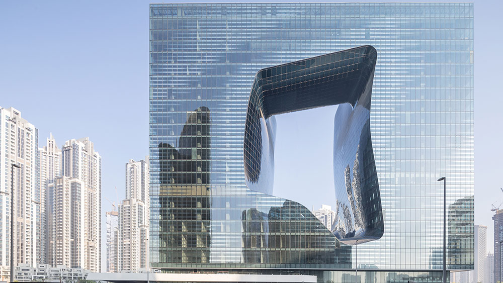 "Zaha Hadid Architect's ""the Opus"""